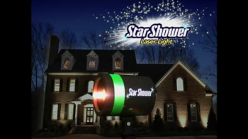 Star Shower Laser Light TV Spot, \'Luces de Navidad\' [Spanish]