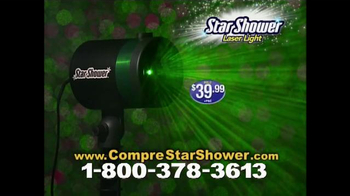 Star Shower Laser Light TV Spot, 'Luces de Navidad' [Spanish] - Thumbnail 8