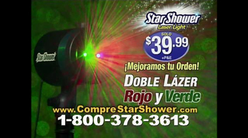 Star Shower Laser Light TV Spot, 'Luces de Navidad' [Spanish] - Thumbnail 9