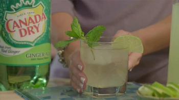Canada Dry Gingerale TV Spot, 'Food Network: Mojito Ginger Splash' - Thumbnail 5