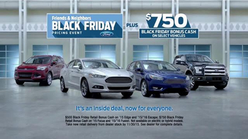 Ford Black Friday Pricing Event TV Spot, 'Inside Deal for Everyone' - Thumbnail 7