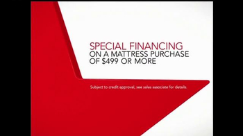 Macy's One Day Sale TV Spot, 'Mattresses: Special Financing' - Thumbnail 7