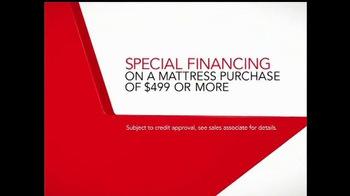 Macy's One Day Sale TV Spot, 'Mattresses: Special Financing' - Thumbnail 8