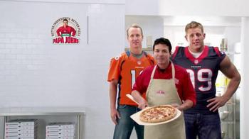 Papa John's Epic Meatz TV Spot, 'Heavy' Featuring Peyton Manning, J.J. Watt - Thumbnail 9