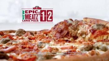 Papa John's Epic Meatz TV Spot, 'Heavy' Featuring Peyton Manning, J.J. Watt - Thumbnail 5