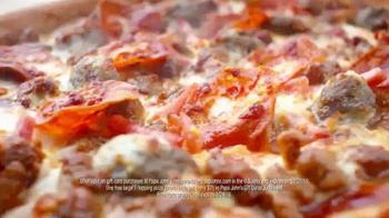 Papa John's Epic Meatz TV Spot, 'Heavy' Featuring Peyton Manning, J.J. Watt - Thumbnail 7