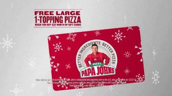 Papa John's Epic Meatz TV Spot, 'Heavy' Featuring Peyton Manning, J.J. Watt - Thumbnail 8