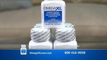 Omega XL TV Spot, 'Joint Pain' Featuring Larry King - Thumbnail 2