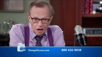 Omega XL TV Spot, 'Joint Pain' Featuring Larry King - Thumbnail 3