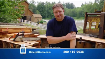 Omega XL TV Spot, 'Joint Pain' Featuring Larry King - Thumbnail 5