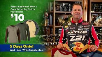 Bass Pro Shops Thanksgiving 5-Day Sale TV Spot, 'Shirts and Hoodies' - Thumbnail 3
