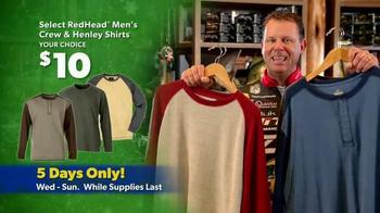 Bass Pro Shops Thanksgiving 5-Day Sale TV Spot, 'Shirts and Hoodies' - Thumbnail 4
