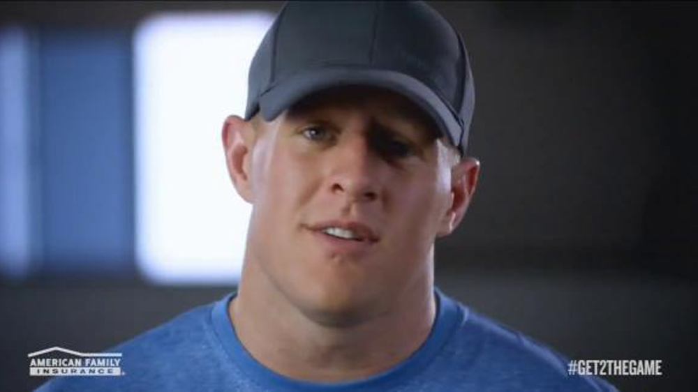 American Family Insurance TV Commercial, 'Get 2 the Game' Featuring J.J. Watt