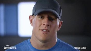 American Family Insurance TV Spot, 'Get 2 the Game' Featuring J.J. Watt - 87 commercial airings