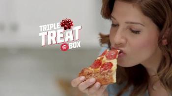 Pizza Hut Triple Treat Box TV Spot, 'Holiday' Featuring Michael Bolton - Thumbnail 5