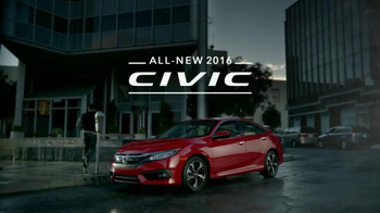 2016 Honda Civic TV Spot, 'Everyone's Next' - Thumbnail 9
