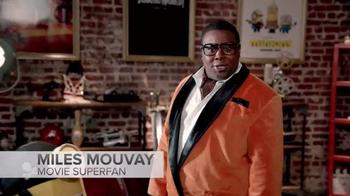 Fandango TV Spot, 'Miles Mouvay: Mustaches, Concessions and 3D Glasses' - Thumbnail 1