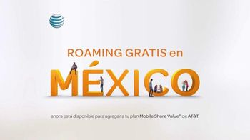 AT&T TV Spot, 'Roaming en México' [Spanish] - 944 commercial airings