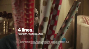 Verizon TV Spot, 'Holiday Wrapping: Best Smartphones Free' - Thumbnail 5