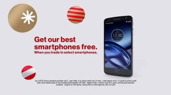 Verizon TV Spot, 'Holiday Wrapping: Best Smartphones Free' - Thumbnail 8