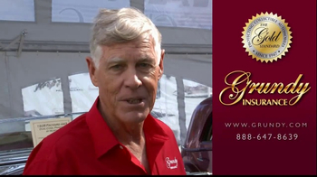 Grundy Insurance TV Spot, 'Classic Car Salon' Featuring Jim Grundy - Thumbnail 8