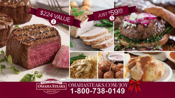 Omaha Steaks TV Spot, \'2016 Holiday: Deluxe Gift Package\'