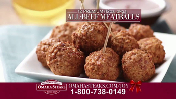 Omaha Steaks TV Spot, '2016 Holiday: Deluxe Gift Package' - Thumbnail 2