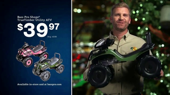 Bass Pro Shops Christmas Sale TV Spot, 'Flannel, Toy ATV & Optics' - Thumbnail 7