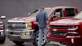 Chevrolet Red Tag Sales Event TV Spot, 'A Lot to Say: 2017 Silverado' - Thumbnail 2