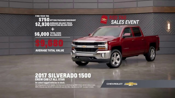 Chevrolet Red Tag Sales Event TV Spot, 'A Lot to Say: 2017 Silverado' - Thumbnail 8