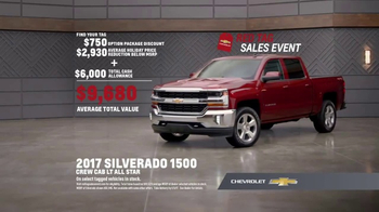 Chevrolet Red Tag Sales Event TV Spot, 'A Lot to Say: 2017 Silverado' - Thumbnail 9