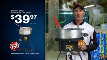 Bass Pro Shops Christmas Sale TV Spot, 'Fleece and Fish Fryer' - 9 commercial airings
