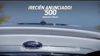 Ford La Venta de Fin de Año TV Spot, 'Días finales' [Spanish] - Thumbnail 5
