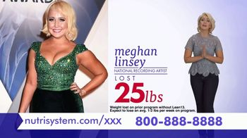 Nutrisystem Lean13 TV Spot, \'Take Control\' Ft. Marie Osmond, Meghan Linsey