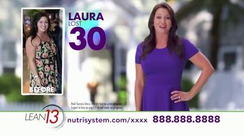 Nutrisystem Lean13 TV Spot, 'Lifestyle' - Thumbnail 3