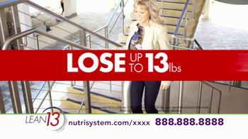 Nutrisystem Lean13 TV Spot, 'Lifestyle' - Thumbnail 9