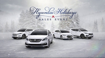 Hyundai Holidays Sales Event TV Spot, 'Plenty to Be Festive About' - Thumbnail 8