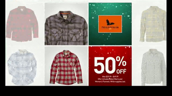 Dick's Sporting Goods Holiday Sale TV Spot, 'Hoodies, Fleece & Flannel' - Thumbnail 6