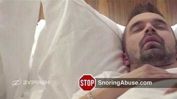 Zyppah TV Spot, 'Stop Snoring Abuse' - Thumbnail 4