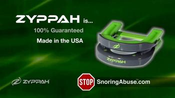 Zyppah TV Spot, 'Stop Snoring Abuse' - Thumbnail 7
