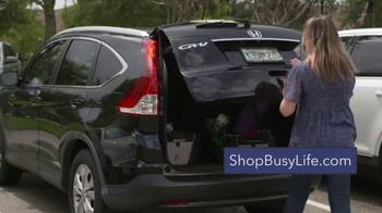 Busy Life Trunk Organizer TV Spot, 'Life in Your Car' Ft. Kevin Harrington - Thumbnail 5