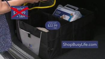 Busy Life Trunk Organizer TV Spot, 'Life in Your Car' Ft. Kevin Harrington - Thumbnail 9