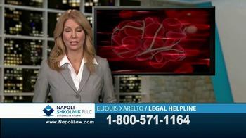 Napoli Shkolnik PLLC TV Spot, 'Eliquis and Xarelto' - Thumbnail 2