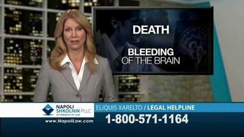 Napoli Shkolnik PLLC TV Spot, 'Eliquis and Xarelto'