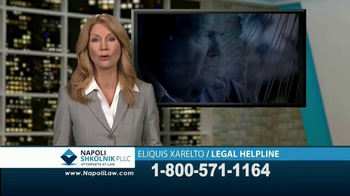 Napoli Shkolnik PLLC TV Spot, 'Eliquis and Xarelto' - Thumbnail 7