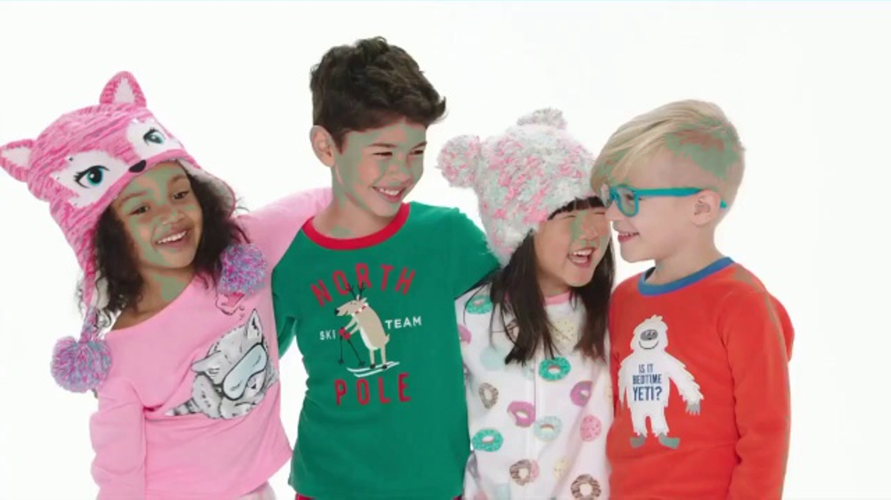 kohls tv commercial 2016 holidays family sleepwear ispottv
