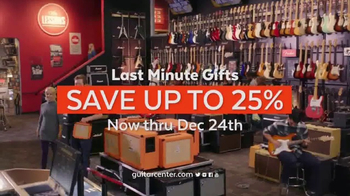 Guitar Center TV Spot, 'Last Minute Gifts' Song by Run D.M.C. - Thumbnail 8