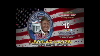 New England Mint Coins TV Spot, 'Donald Trump Presidential Half Dollar' - Thumbnail 5