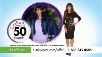 Nutrisystem Lean13 TV Spot, 'Celebrate' Featuring Marie Osmond - Thumbnail 7