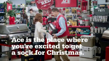 ACE Hardware Giant Stocking Sale TV Spot, 'Wrap It in Red' - 1064 commercial airings